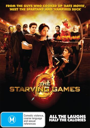The Starving Games DVD Region 4 NEW
