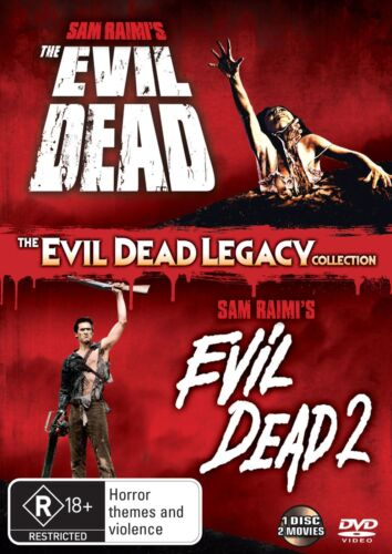 The Evil Dead 1 2 DVD Region 4 NEW