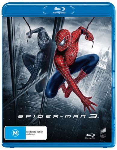Spider Man 3 Blu-ray Region B NEW