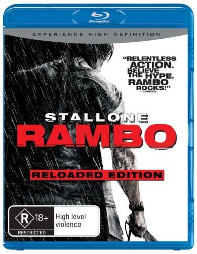 Rambo Blu-ray Region B NEW