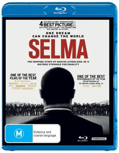 Selma Blu-ray Region B NEW