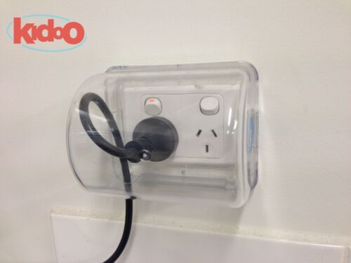 Safety Power Point Cover | Child Baby Proof Electric Outlet, Wall Socket, Plugs <br/> KIDOO IS AN AUTHORISED DISTRIBUTOR FOR MICKY HA HA