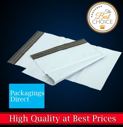Poly Mailer Plastic Mailing Satchel - Quality Self Sealing Shipping Courier Bag <br/> ✔High Quality ✔Great Service from Packaging Specialist