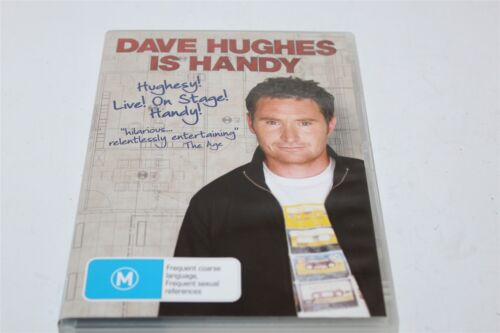 Dave Hughes Is Handy Dvd Live On Stage!