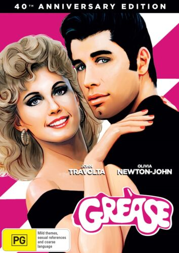 Grease 40th Anniversary Edition DVD Region 4 NEW