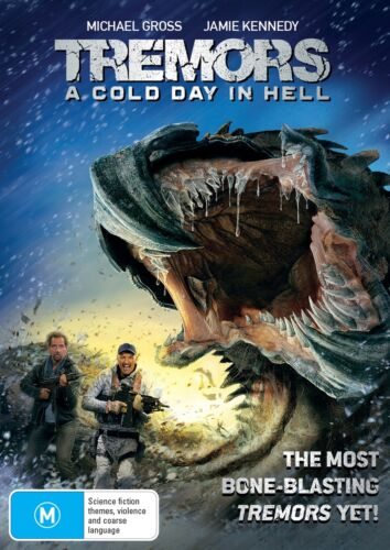 Tremors A Cold Day in Hell DVD Region 4 NEW