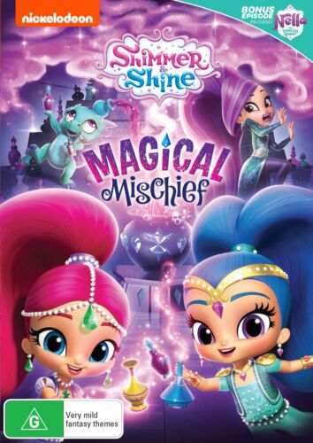 Shimmer and Shine Magical Mischief DVD Region 4 NEW