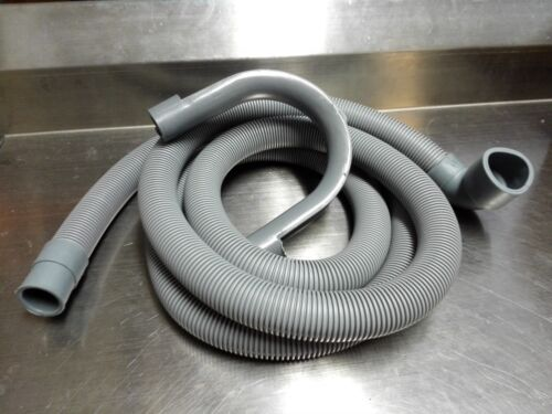 LG WASHING MACHINE DRAIN OUTLET HOSE 90 DEGREE BEND 30MM X 22MM W056 2.4 Metres