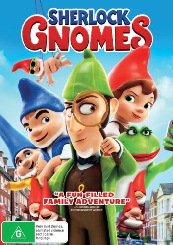 Sherlock Gnomes DVD Region 4 NEW