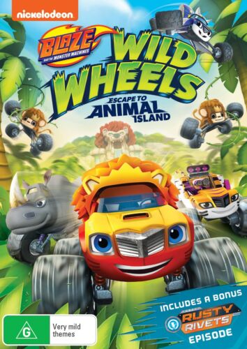 Blaze and the Monster Machines Wild Wheels Escape DVD Region 4 NEW
