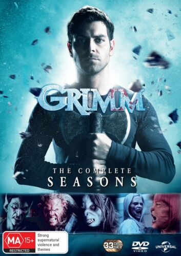 Grimm The Complete Series Box Set DVD Region 4 NEW