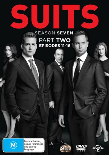 Suits Season 7 Series Seven Part Two DVD Region 4 NEW