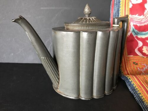 Old English Shaw & Fish EP&S Silver Plated Teapot …beautiful accent / display...