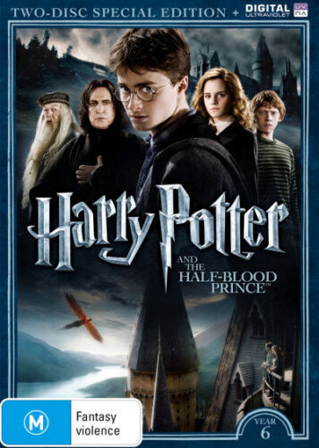 Harry Potter and the Half-Blood Prince (Year 6) (Two-Disc . - DVD - NEW Region 4