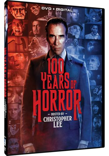 100 YEARS OF HORROR HOSTED BY CHRISTOPHER LEE NEW 3 DVD 26 EPISODES EXCLUSIVE