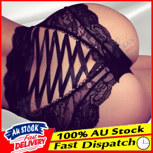 Lingerie Knickers Women Ladies Thong Underwear Sexy Lace G-string Briefs Panties