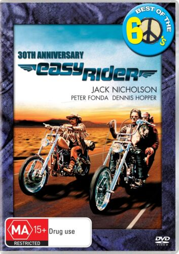 Easy Rider DVD Region 4 NEW