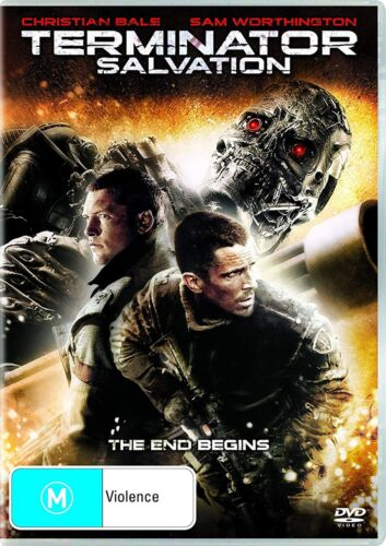 Terminator Salvation DVD Region 4 NEW