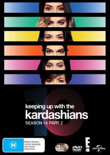 Keeping Up With the Kardashians Season 14 Part 2 Box Set DVD Region 4 NEW