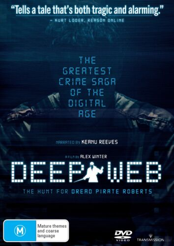 Deep Web DVD Region 4 NEW