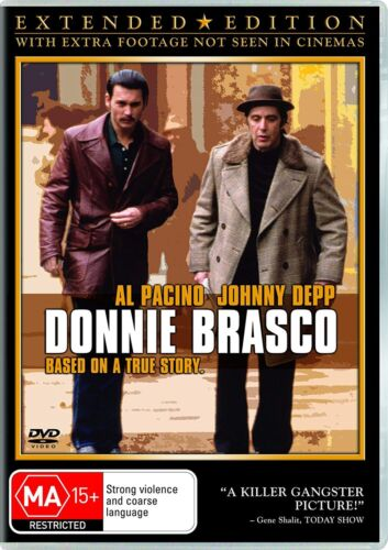 Donnie Brasco DVD Region 4 NEW