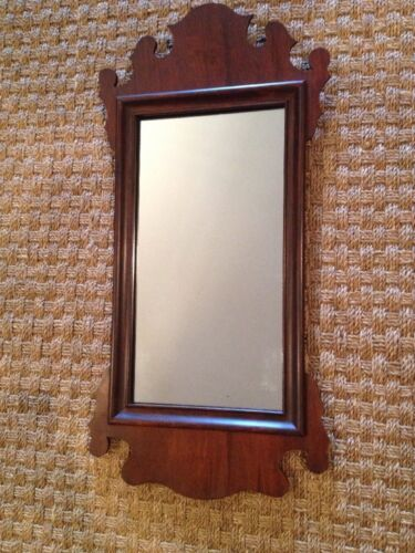 Antique Small Chippendale Style Mirror Excellent Condition!