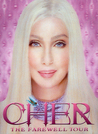CHER - THE FAREWELL TOUR - DVD ( HOLOGRAM COVER ) R4 AUS - RARE !