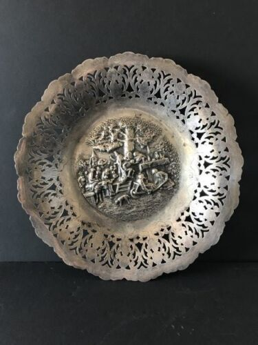 Old Dutch Silver Plated Candy Dish / Bowl …beautiful collection / accent piece