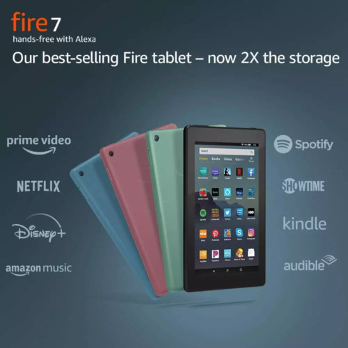 """NEW Amazon Fire 7 Tablet With Alexa 7"""" Display 8 GB 7th Generation - ALL COLORS"""