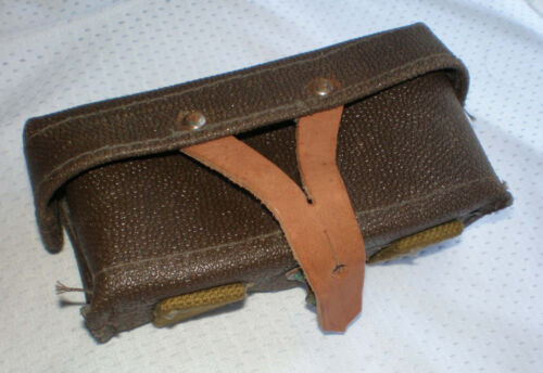 Ussr Soviet Russian SKS 1954-1960 yrs 100% original Leather kirza ammo pouch NEWOriginal Period Items - 13982