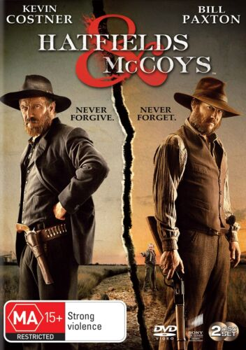 Hatfields and McCoys DVD Region 4 NEW