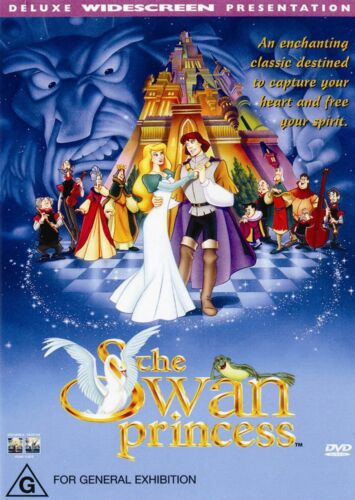 The Swan Princess DVD Region 4 NEW