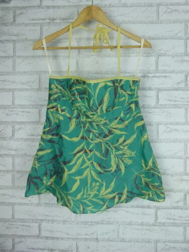 TOCCA Top Sz 2 BNWT Green, yellow floral print