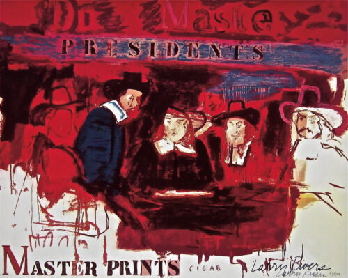 Dutch Masters, Limited Edition Lithograph & Silkscreen, Larry Rivers - SIGNED