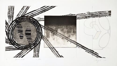 Gravity Feed (State 2), Limited Edition Etching & Aquatint, James Rosenquist