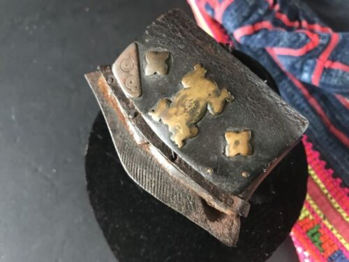 Old Tibetan Leather Purse Fire Starter Chuckmuck …beautiful collection item