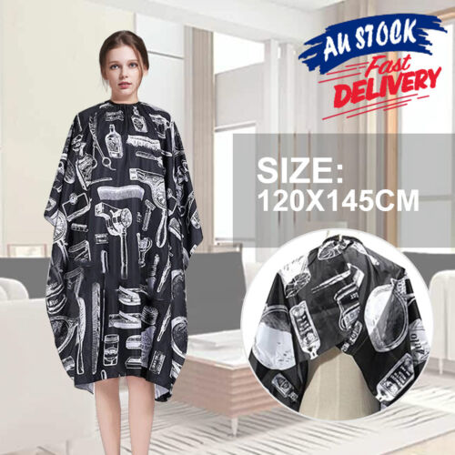 Non-stick Large Salon Unisex Hair Cutting Cape Apron Cloth Barber Hairdressing