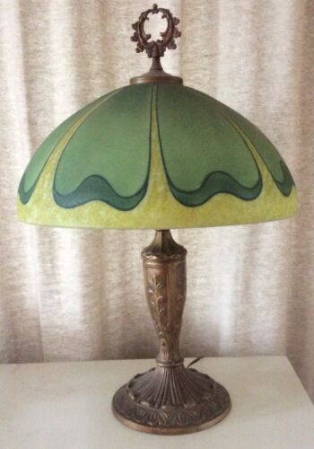 Handel style Pittsburgh art glass lamp shade only