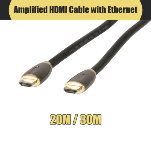 Concord 20m / 30m Amplified HDMI Cable with Ethernet