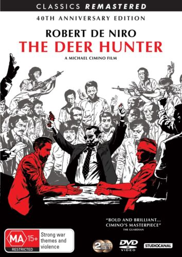 The Deer Hunter 40th Anniversary Edition DVD Region 4 NEW