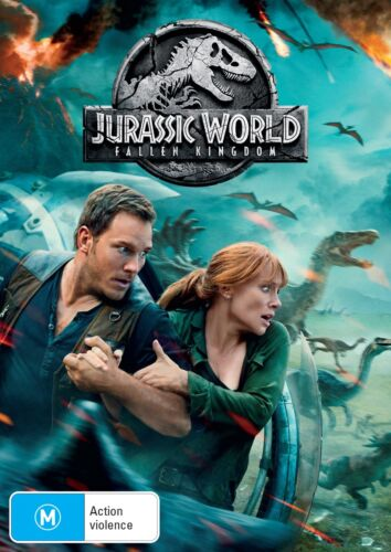 Jurassic World Fallen Kingdom DVD Region 4 NEW