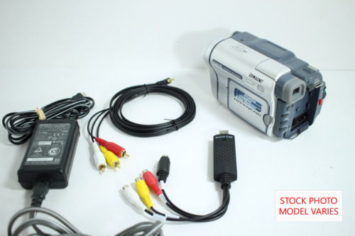 Sony Camcorder for 8mm Digital8 MiniDV Hi8 Tape Transfer to Computer USB and DVD