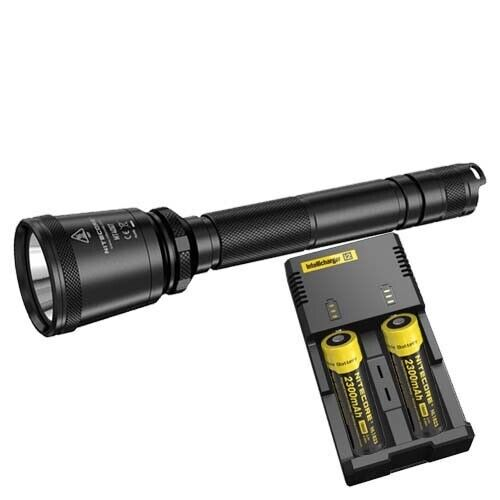 Nitecore MT40GT LED Torch, 2 x Batteries & Charger (AUST STK)