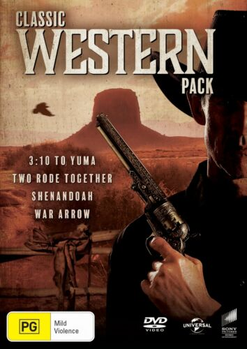 Classic Western Collection Box Set DVD Region 4 NEW