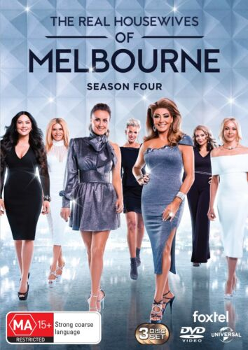 The Real Housewives of Melbourne Season 4 Series Four Box Set DVD Region 4 NEW