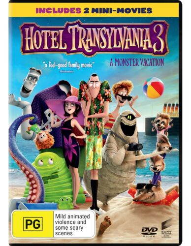 Hotel Transylvania 3 DVD Region 4 NEW
