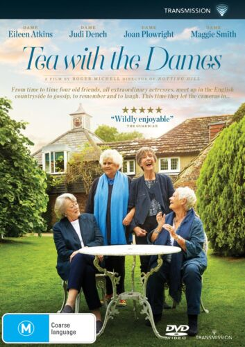 Tea With The Dames DVD DVD Region 4 NEW