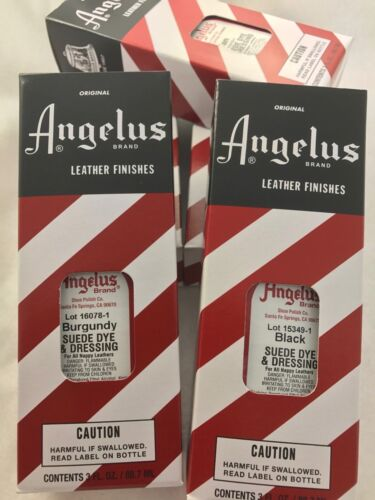 Angelus Suede Dye & Dressing for suede shoes,boots & bags 88.72ml