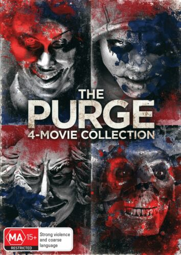 The Purge 4 Movie Collection Box Set DVD Region 4 NEW