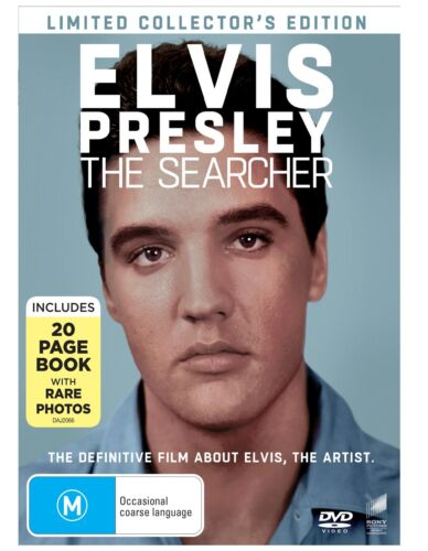 Elvis Presley The Searcher with Book Limited edition DVD Region 4 NEW